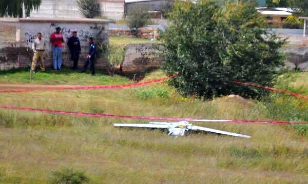 Avión no tripulado sobrevolaba la ciudad