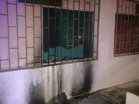 Arrojan bomba molotov a Centro de Rehabilitación