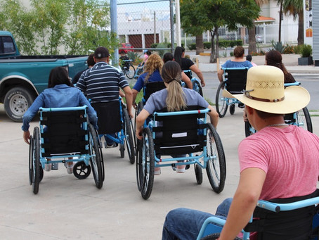 Se unen Fechac, Operación Bendición México y DIF Estatal para entregar 520 sillas de ruedas