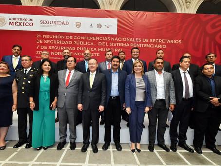 Pone Chihuahua máximo empeño en coordinación efectiva por la seguridad y contra la impunidad: Javier
