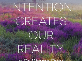 Setting An Intention