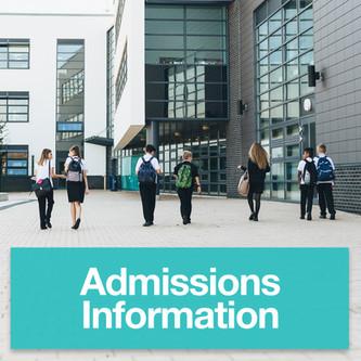 Kelvin - Y6 Admissions Information