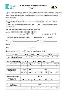 School Uniform 2020 Order Form Year 7-1.
