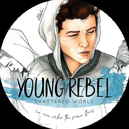 Buchkerze »Young Rebel«