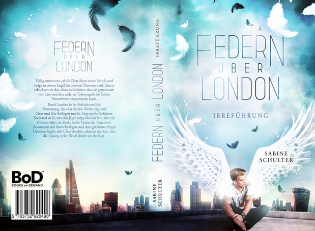 Federn über London 2, Sabine Schulter