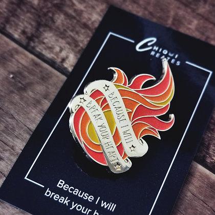 """""""Break your heart""""-Enamel-Pin (Glow in the dark)"""