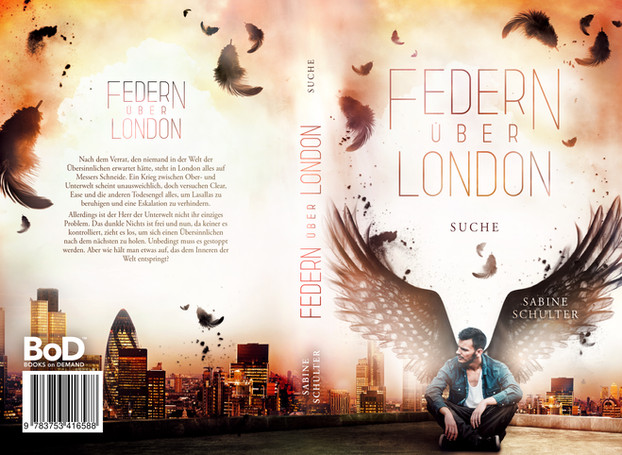 Federn über London 3, Sabine Schulter