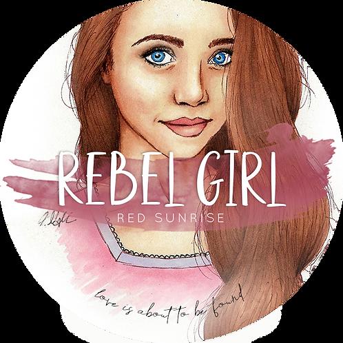 Buchkerze »Rebel Girl«