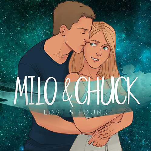 Buchkerze »Milo & Chuck«