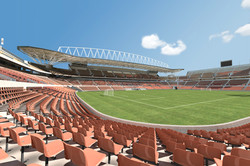 Mokaba Stadium 3D South Africa