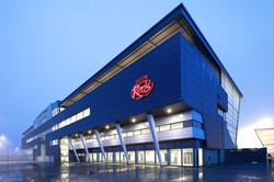 Salfords Reds Stadium At Night