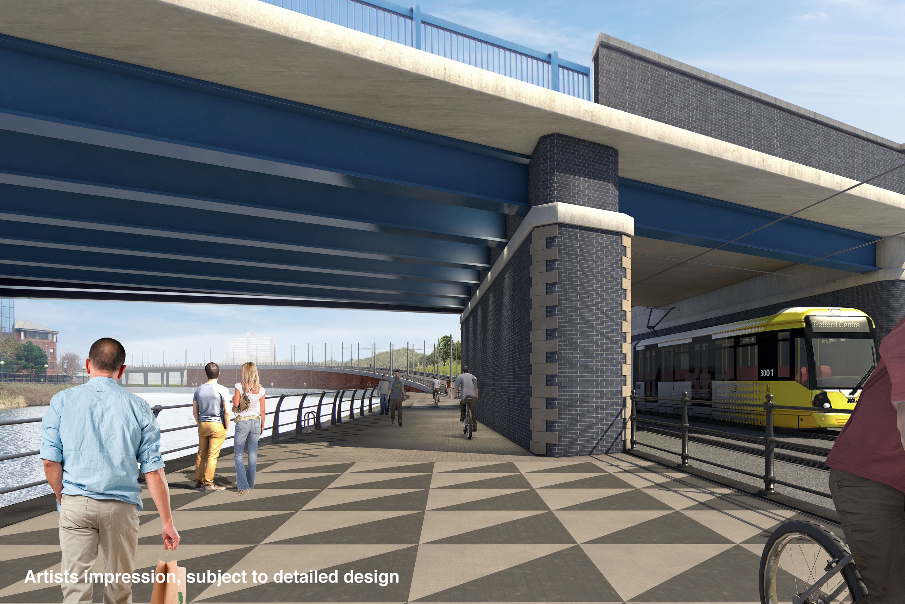 Metro Link Trafford Line