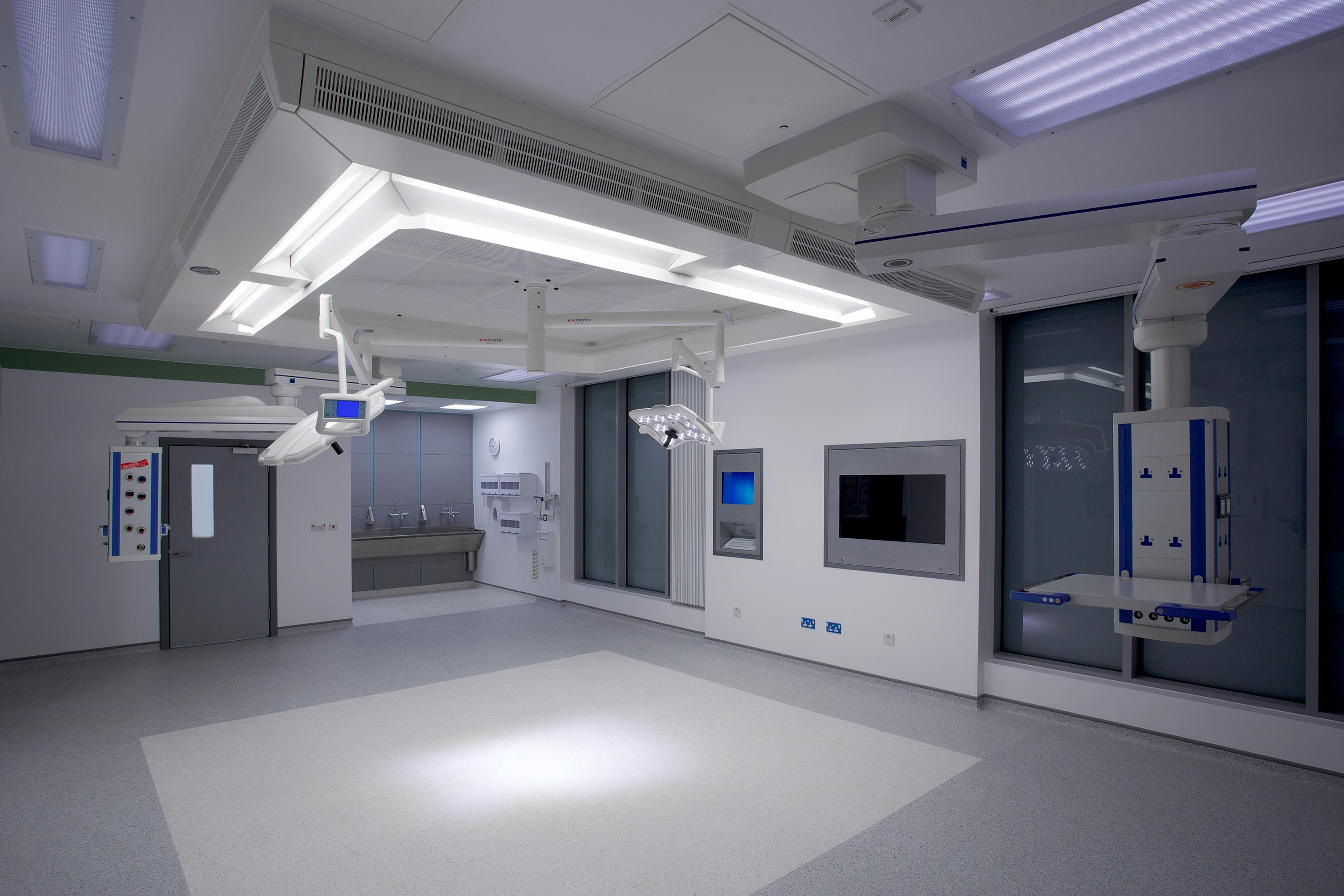 Salford Royal Hospital Day Architectual