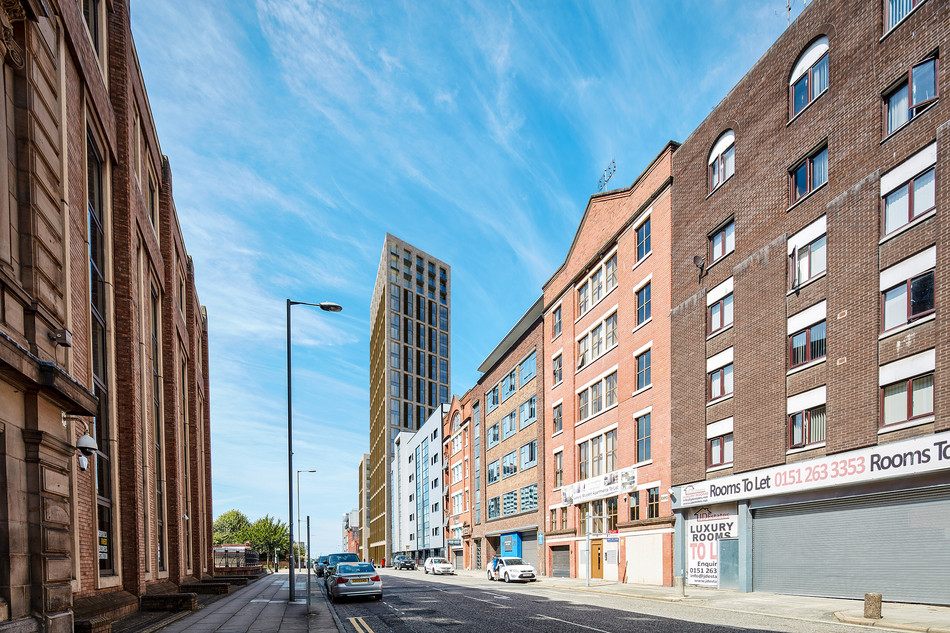 Consent for Liverpool high-rise on Pall Mall