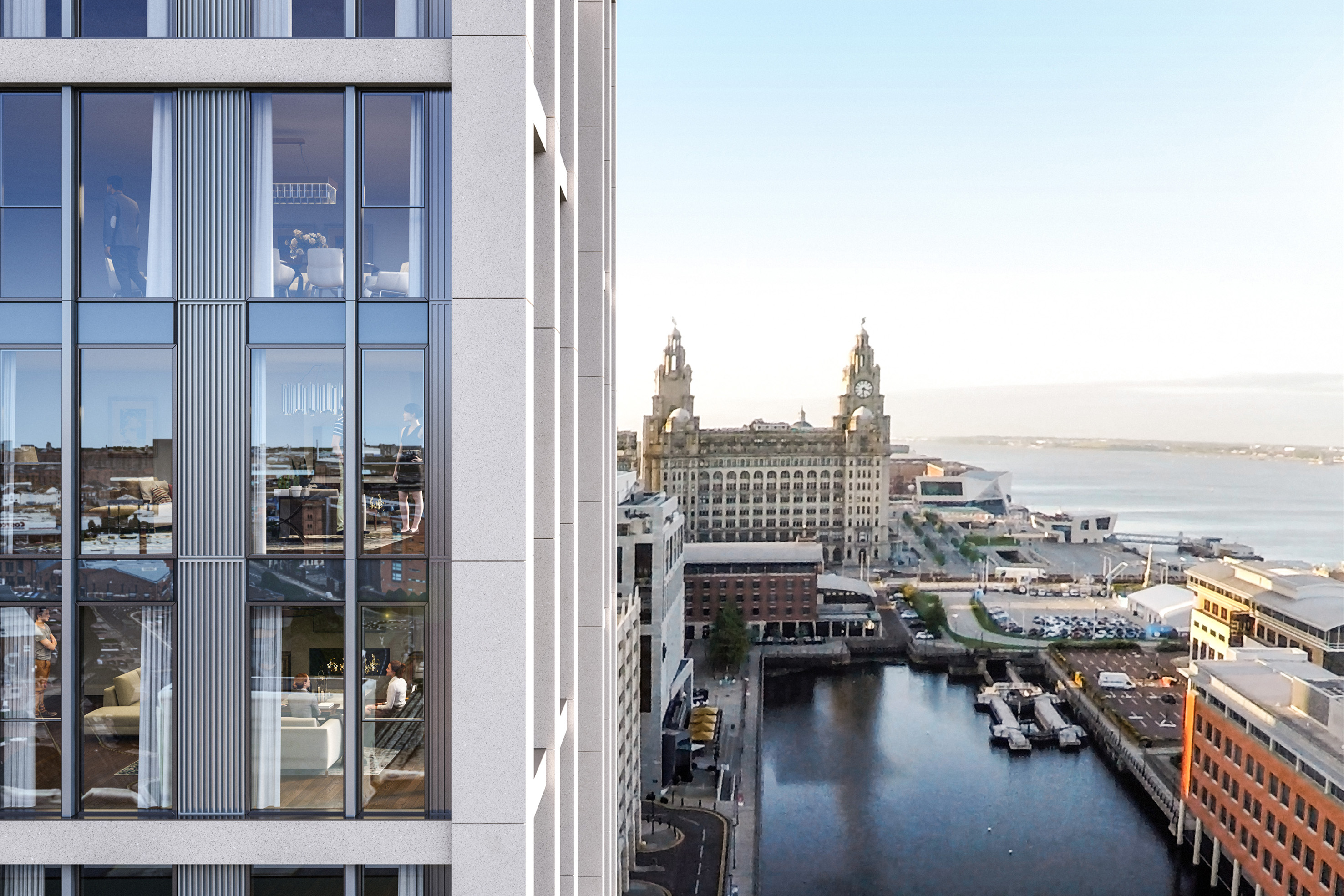 Watch Inside The Lexington: Liverpools 82 million waterfront tower video