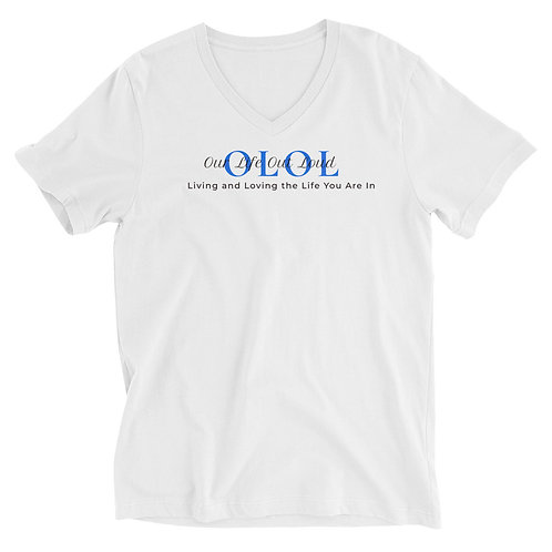 Our Life Out Loud V-Neck Tee