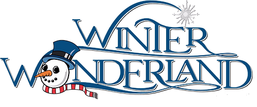 Winter Wonderland logo color with snowma