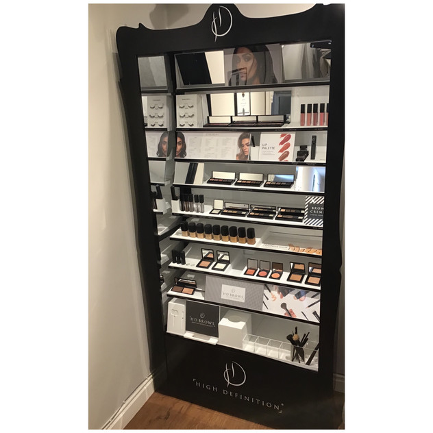 HD make up available at The Beauty Shop
