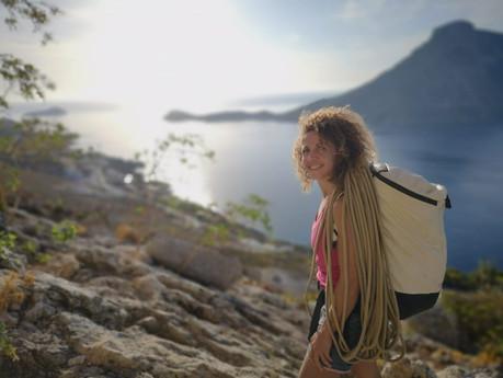 An interview with Climb Mediterranean's founder Tania Matsouka