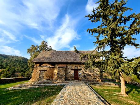 Church of Panagia tis Asinou or Panagia Forviotissa