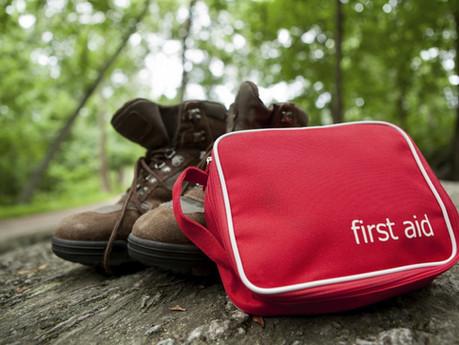 Hiking First Aid kit essentials