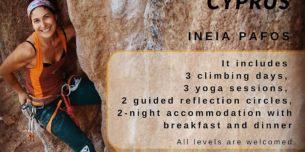 Climb Mediterranean is organizing a Yoga and climbing retreat in Cyprus for 21-23 May 2021!