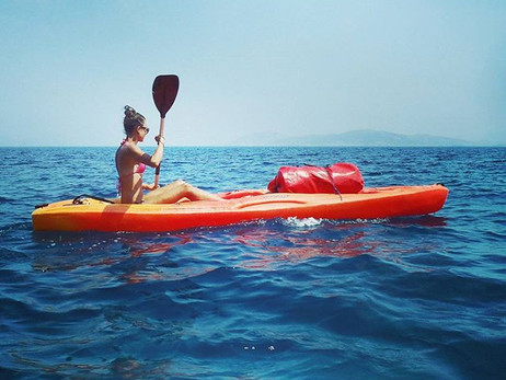 Kayaking in Kalymnos