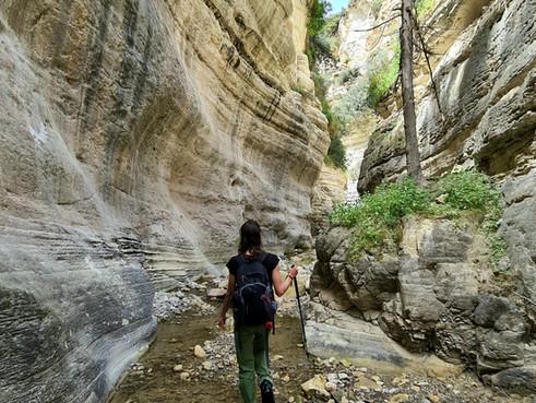 Irinis Gorge in Arodes