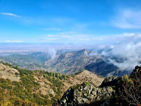 Trail Selladi tou Karamanli - Madari Pyrofylakio (fire lookout station)
