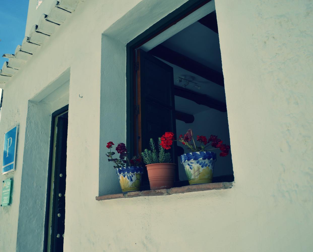 Buiten onze Granada B&B room