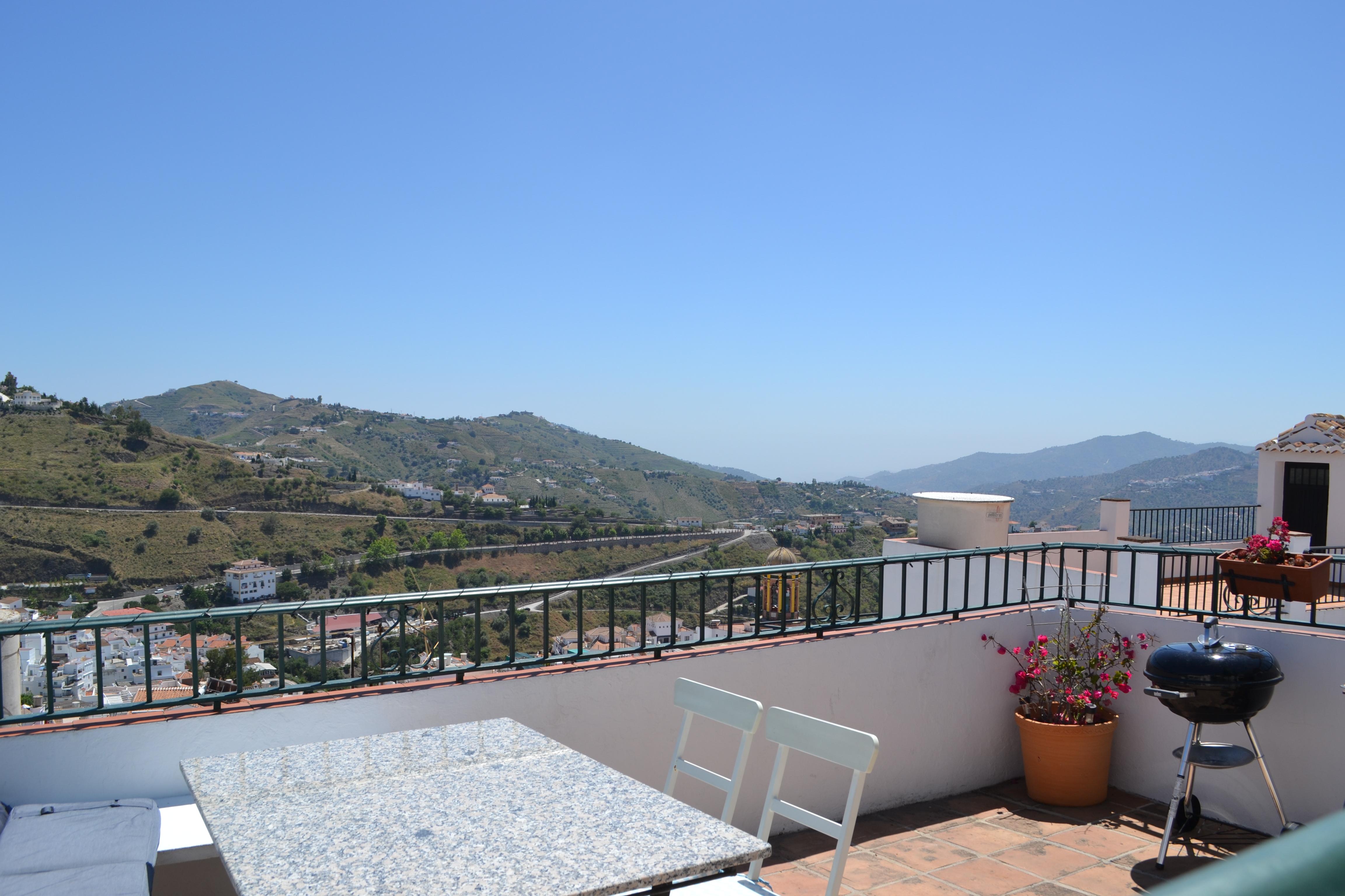 Het uitzicht van Andalusië