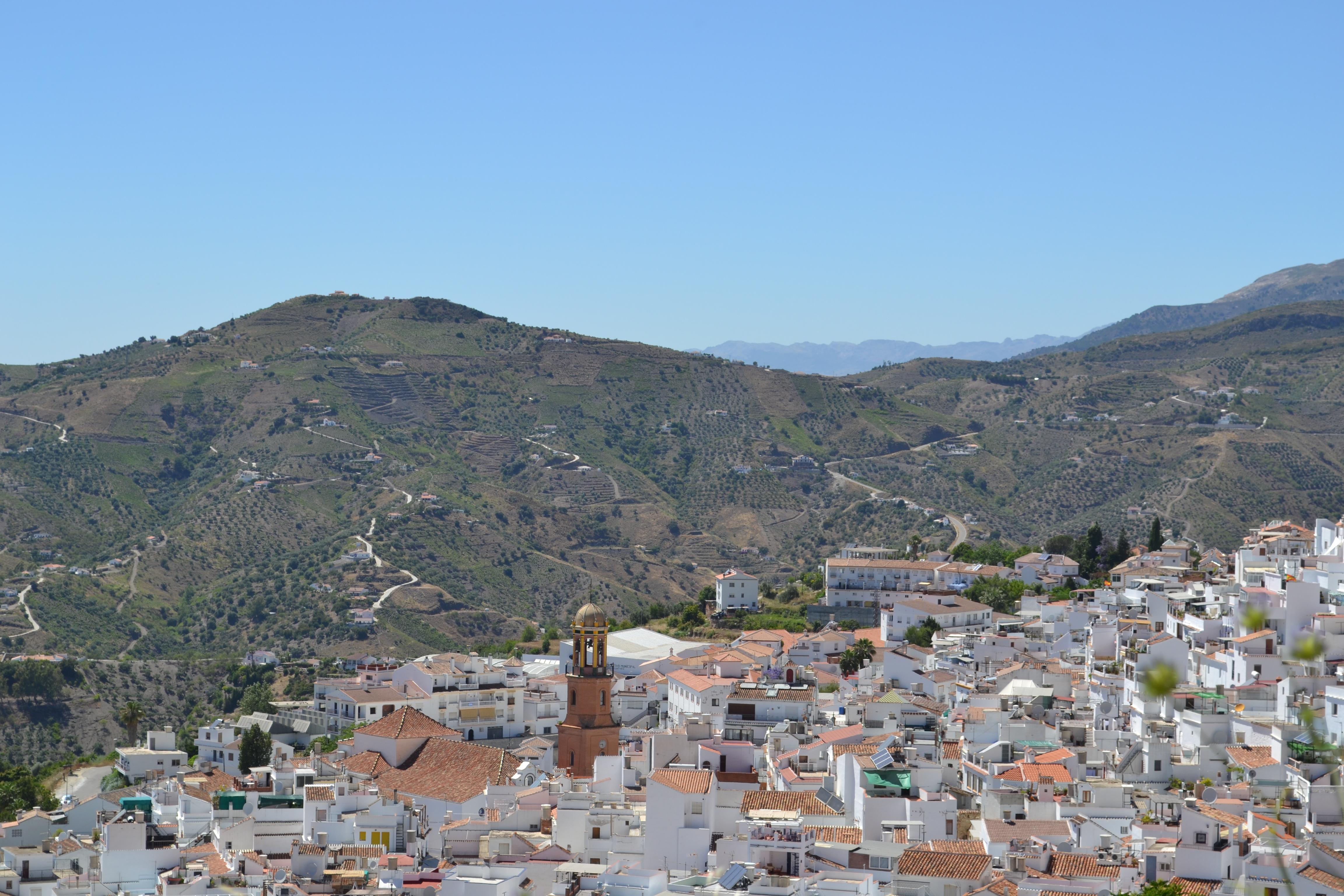 Cómpeta , Andalusië