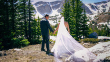 Snowy Range Mountain Wedding, Shayla and Dillon