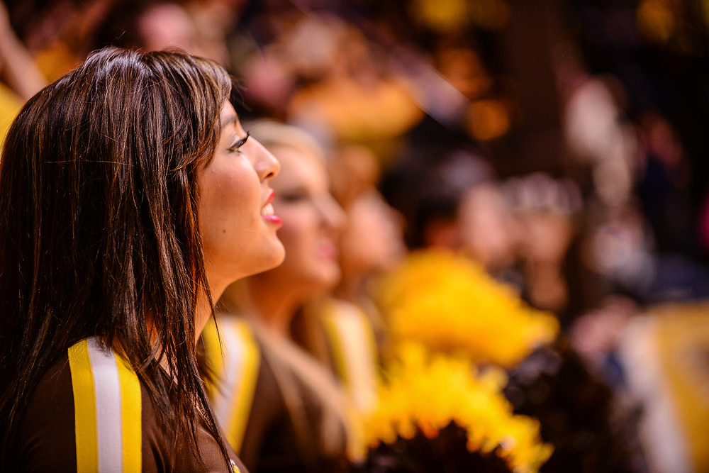 University of Wyoming Cheerleaders