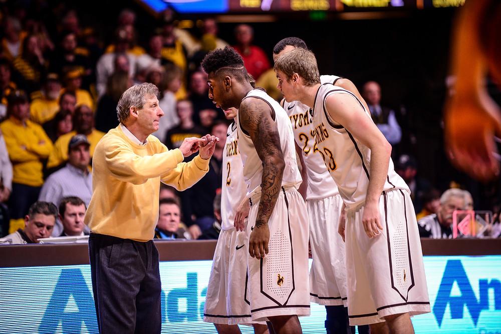 Coach Larry Shyatt