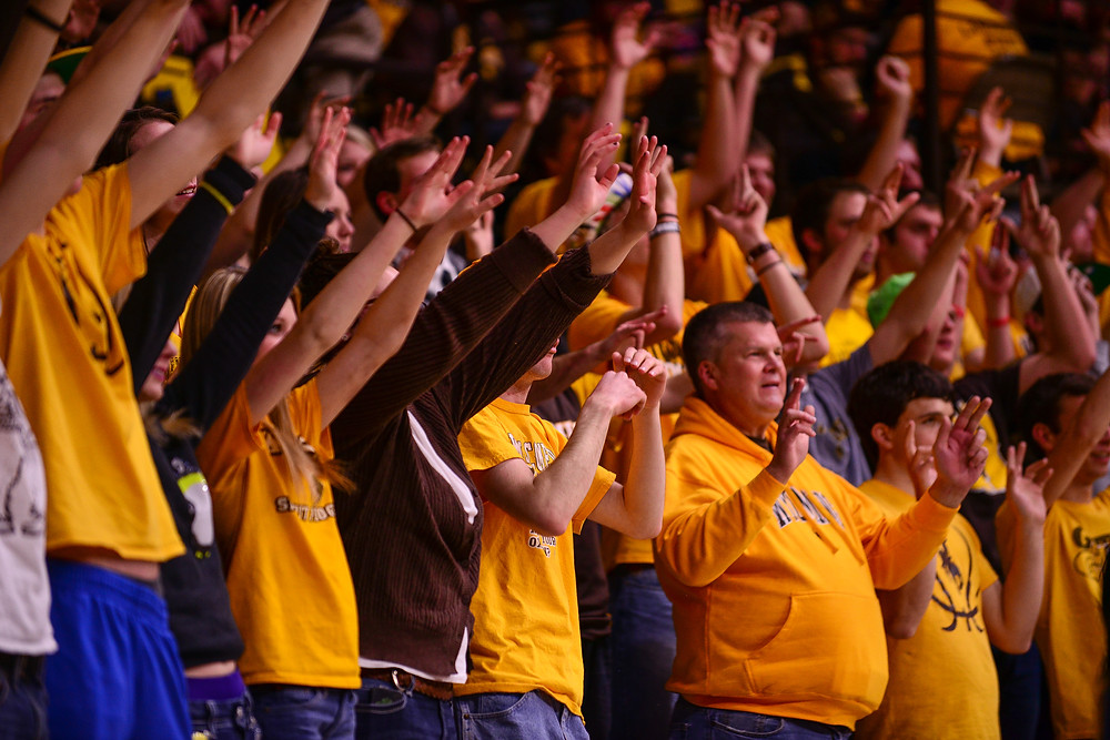 University of Wyoming fans