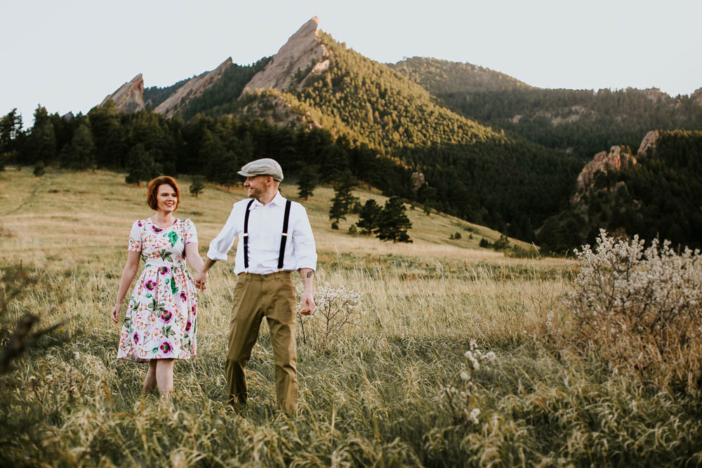 Bailey & Clyde, Vintage Engagement Shoot