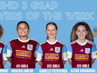 ROUND 3 GSAP PLAYERS OF THE WEEK