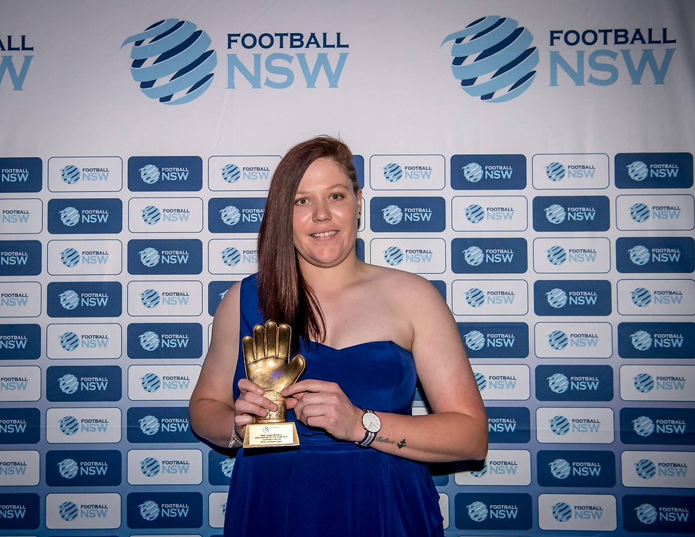 Goal Keeper of the Year - Courtnet Halpin