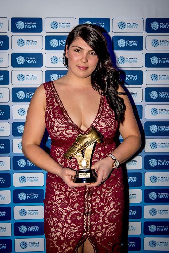 Golden Boot - Christina Ferrerya