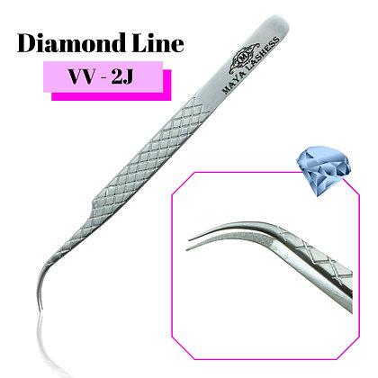 Diamond Line Tweezers VV-2J