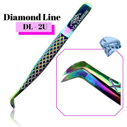 Diamond Line Tweezers  DL-2U