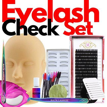 Eyelash Check Set