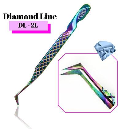 Diamond LineTweezers DL-2L