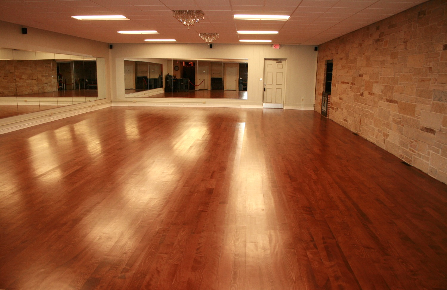 Cushioned Dance Floor