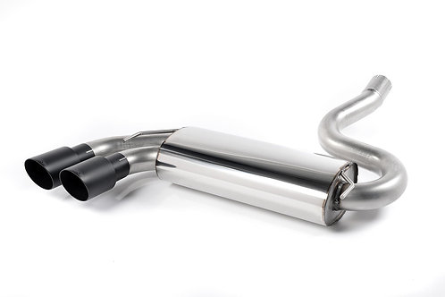 Coupe UR quattro 10v Turbo 1981-1989 Downpipe-back. Resonated Black Tips