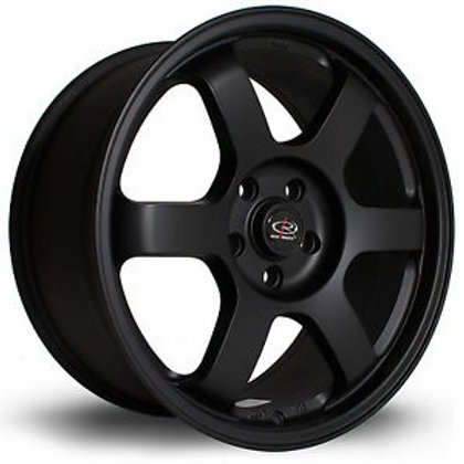 Grid 18x9.5 5x112 ET38 Flat Black