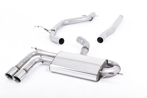 A3 2.0 TDI 170bhp 2WD 3 door DPF Particulate Filter-back Polished Tips