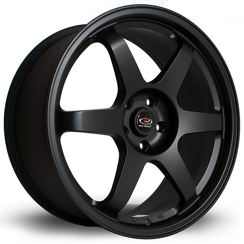 Grid 18x8.5 5x114 ET20 Flat Black