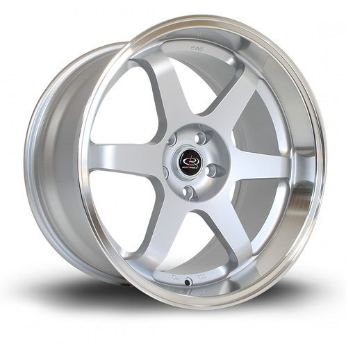 Grid 19x10.5 5x114 ET20 Silver with Polished Lip